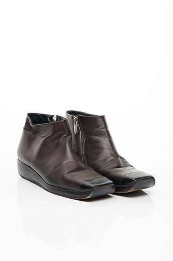 Bottines/Boots marron CHANEL pour femme