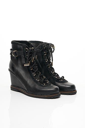 Bottines/Boots noir DIANE VON FURSTENBERG pour femme