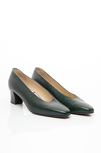 Escarpins vert BALLY pour femme