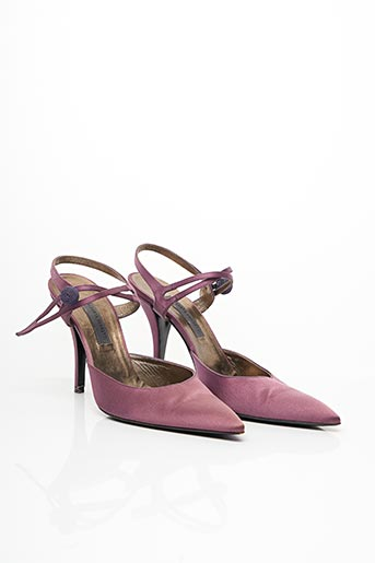 Escarpins violet ALBERTA FERRETTI pour femme