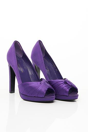 Escarpins violet SERGIO ROSSI pour femme