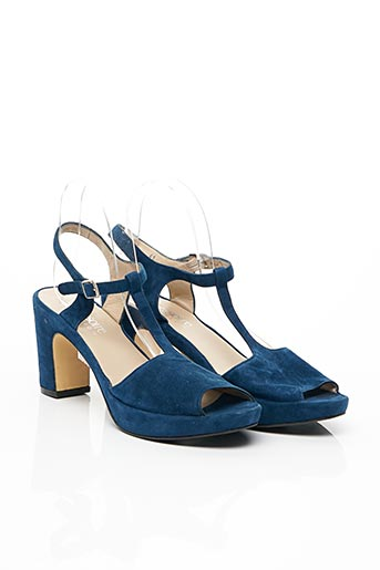 Sandales/Nu pieds bleu ACCESSOIRE DIFFUSION pour femme