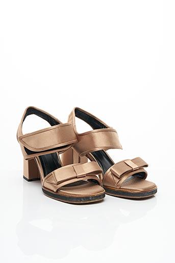 Sandales/Nu pieds marron MARNI pour femme