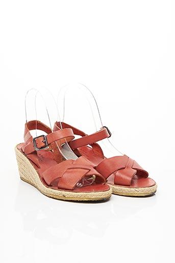 Sandales/Nu pieds orange A.P.C. pour femme