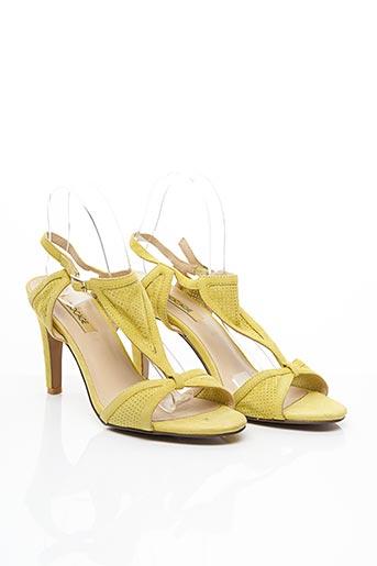 Sandales/Nu pieds vert BOCAGE pour femme