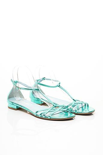 Sandales/Nu pieds vert CAREL PARIS pour femme