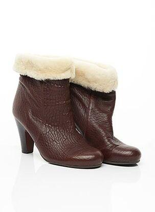 Bottines/Boots marron CHIE MIHARA pour femme