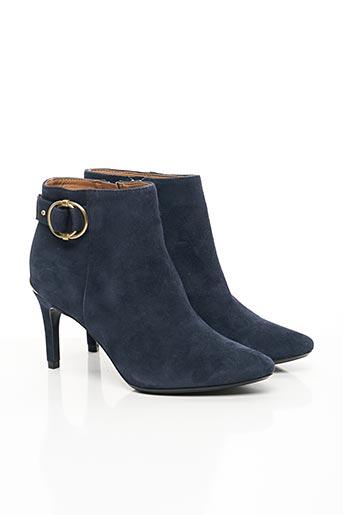 Bottines/Boots bleu CALVIN KLEIN pour femme