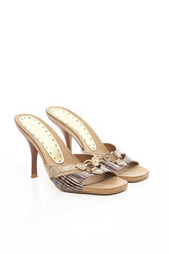 Mules/Sabots beige BCBGIRLS pour femme