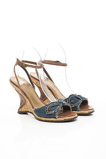 Sandales/Nu pieds bleu FLUXA pour femme
