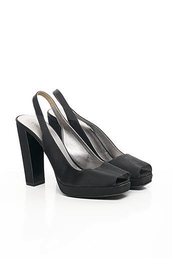 Sandales/Nu pieds noir PRADA pour femme