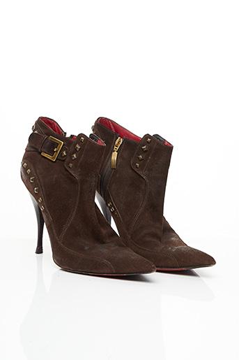 Bottines/Boots marron CESARE PACIOTTI pour femme