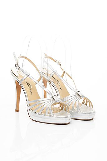 Sandales/Nu pieds gris ALEXANDRA NEEL pour femme