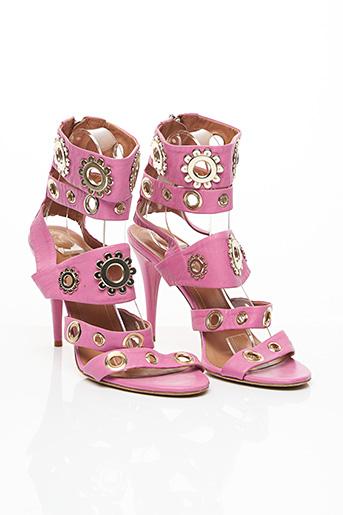 Sandales/Nu pieds rose BLUMARINE pour femme