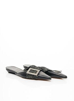 Mules/Sabots noir GALLIANO pour femme