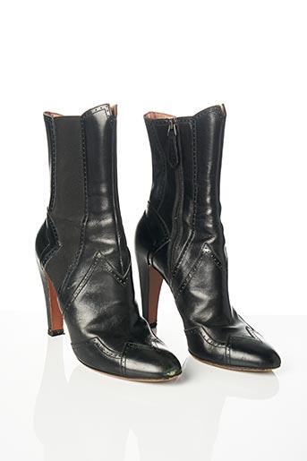 Bottines/Boots noir ALAIA pour femme