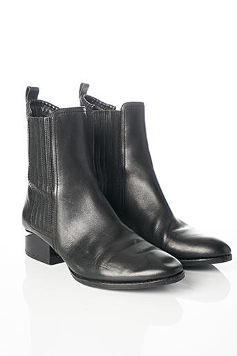 Bottines/Boots noir ALEXANDER WANG pour femme