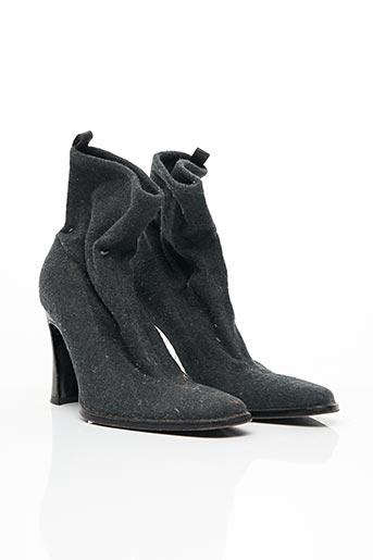 Bottines/Boots gris DOLCE & GABBANA pour femme