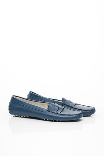 Chaussures bâteau bleu TOD'S pour homme