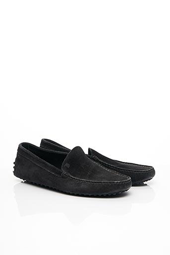 Chaussures bâteau noir TOD'S pour homme