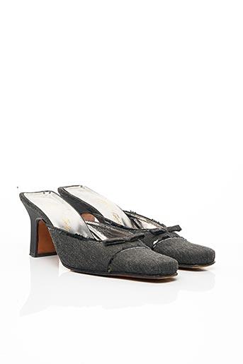 Mules/Sabots gris ATIKA pour femme