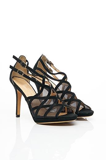 Sandales/Nu pieds noir FRANCOIS PINET pour femme
