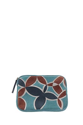 Pochette bleu COTELAC pour femme