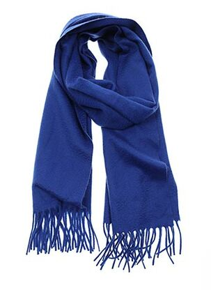 Echarpe bleu YVES SAINTLAURENT pour homme