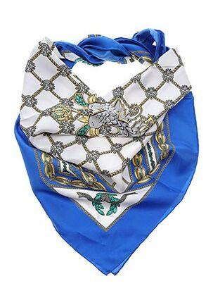 Foulard bleu MCM pour femme