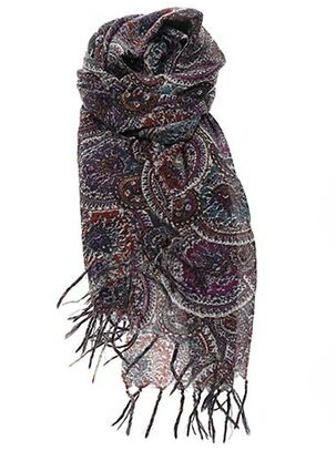 Foulard violet DEVERNOIS pour femme
