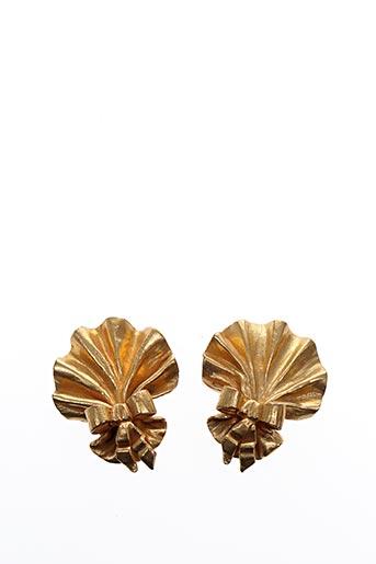 Boucles d'oreilles jaune ANNICK GOUTAL pour femme