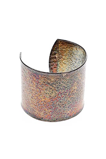 Bracelet Manchette gris AGATHA pour femme