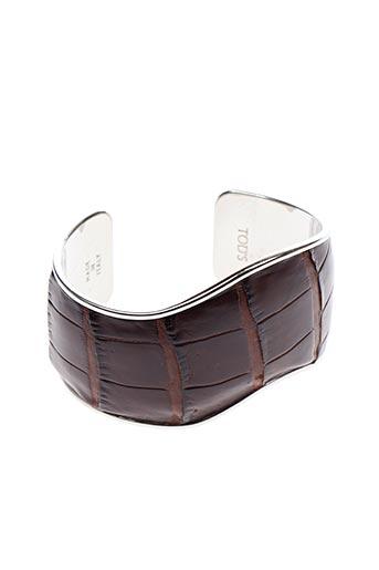 Bracelet Manchette marron TOD'S pour femme