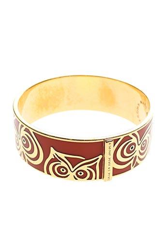 Bracelet Manchette orange MARC JACOBS pour femme