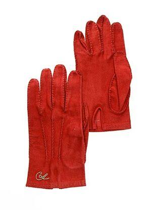 Gants rouge CHRISTIAN LACROIX pour femme