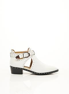 Bottines/Boots blanc BRONX pour femme