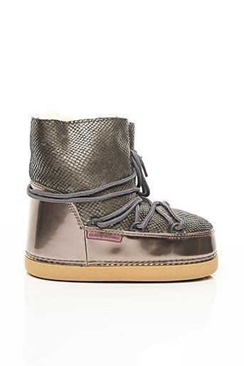 Bottines/Boots marron COLORS OF CALIFORNIA pour fille