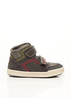 Bottines/Boots gris GEOX pour garçon