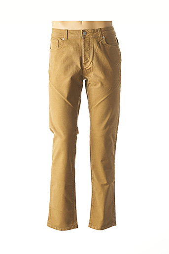 Pantalon casual beige SELECTED pour homme