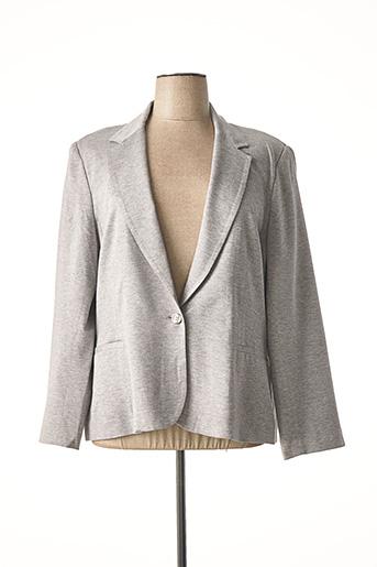 Veste casual gris CARMEN pour femme