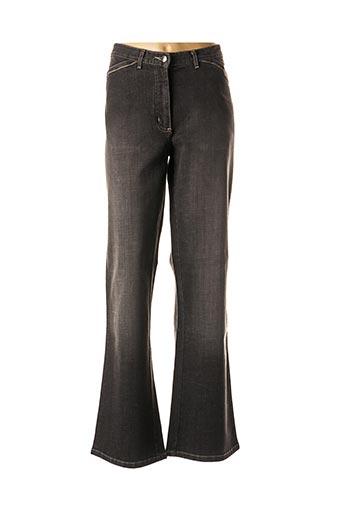 Jeans coupe droite noir JENSEN pour femme