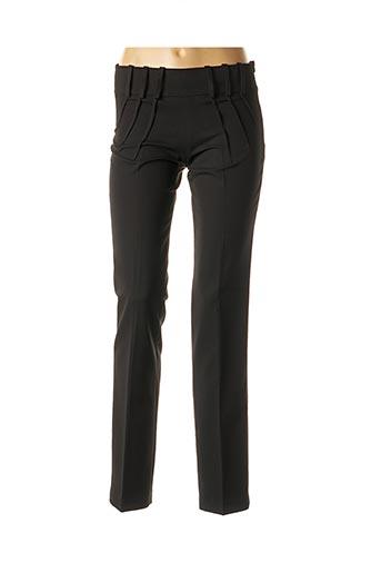 Pantalon chic noir AN' GE pour femme