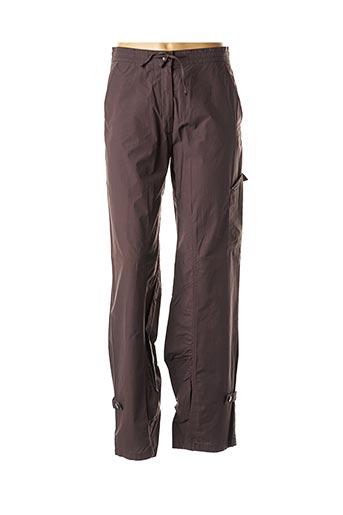 Pantalon casual marron ÇA ME PLAÎT pour femme