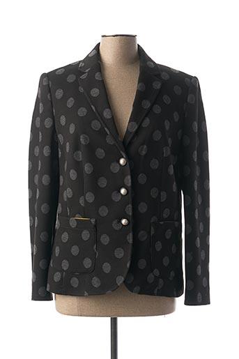 Veste casual noir EUGEN KLEIN pour femme