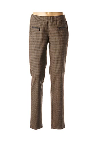 Pantalon casual marron ASCARI pour femme