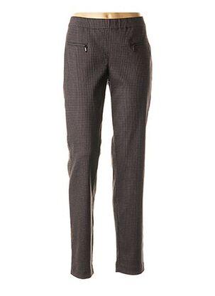 Pantalon casual noir ASCARI pour femme