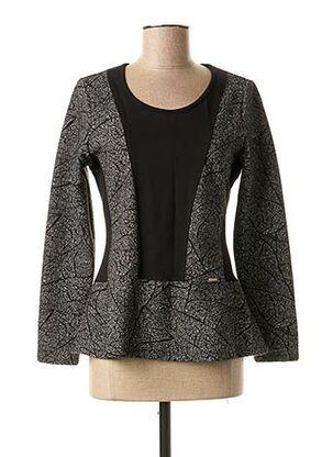 Sweat-shirt noir MALOKA pour femme