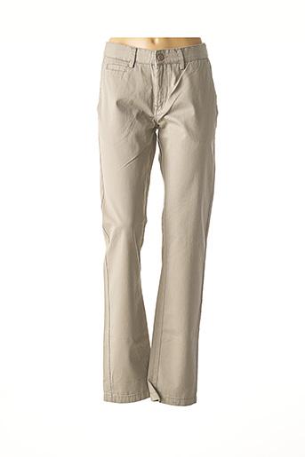Pantalon casual gris CROSSBY pour homme