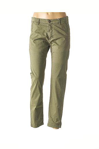 Pantalon casual vert GIORGIO pour homme