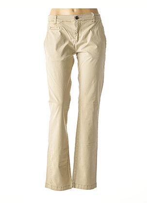 Pantalon casual beige APOLOGIZE pour homme